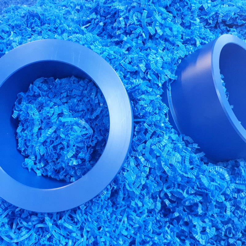 BLUE-ACETAL-BUSHES-FOR-FOOD-INDUSTRY-SCHEDUEL-PIPE-manually-machined-acetal-bushes-for-food-industry-machined-to-fit-scheduel-pipe