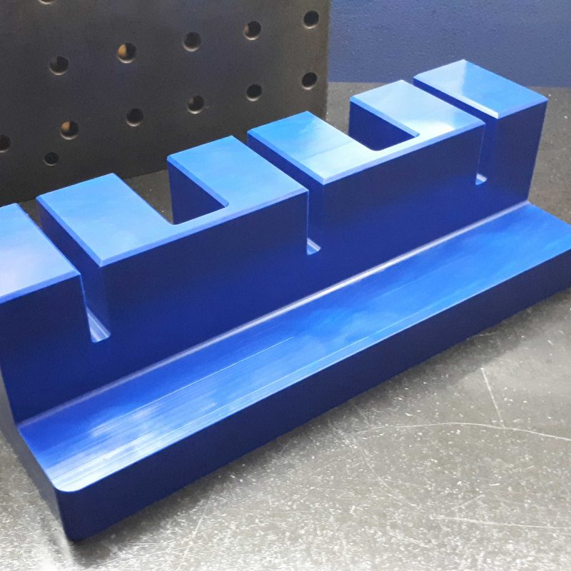 CNC-MACHINING-PLASTIC-FOOD-INDUSTRY-PARTS-blue-actetal-food-industry-parts