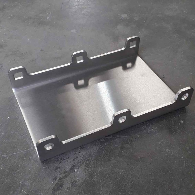 LASER-PROFILE-folded-6mm-stainless-plate-brush-finish-food-industry-Dorchester-Dorset